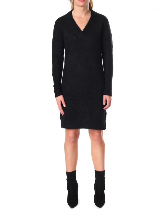 Second Female Women's Brook V-Neck Mohair Mix Dress