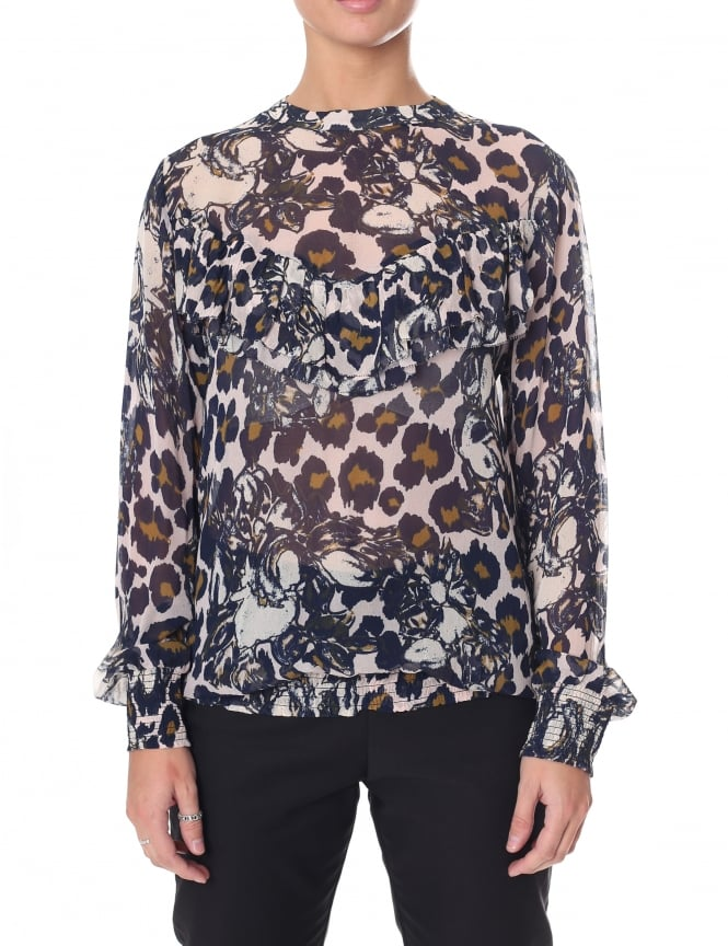 Second Female Women's Florence Ruffle Blouse