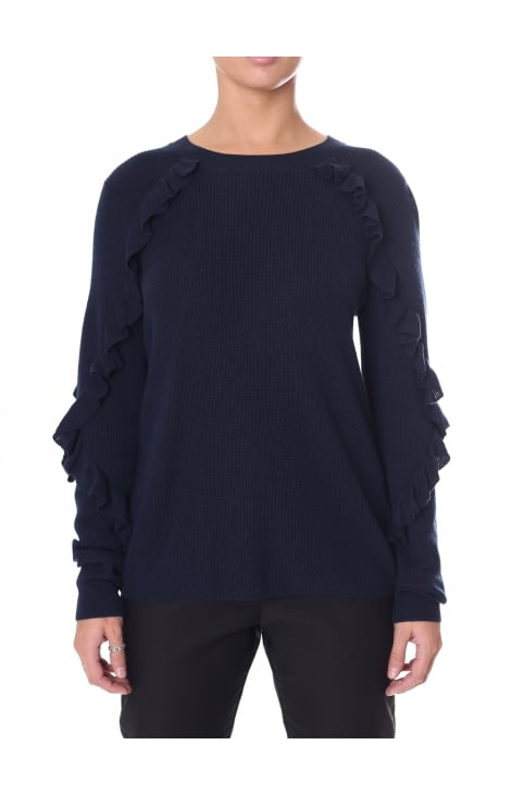 Women's Long Sleeve Sofie O-Neck Knit