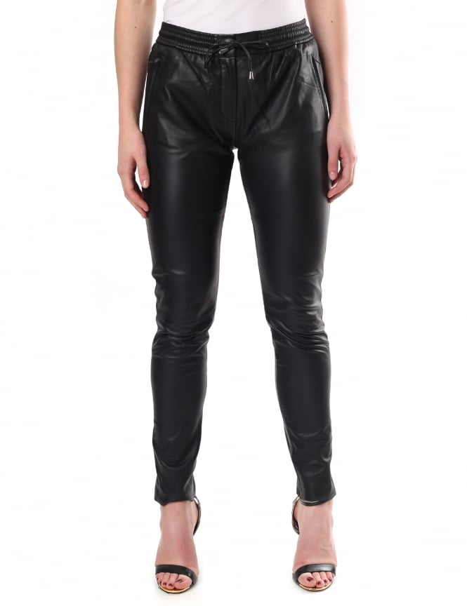 Second Female Women's Pril Leather Trousers