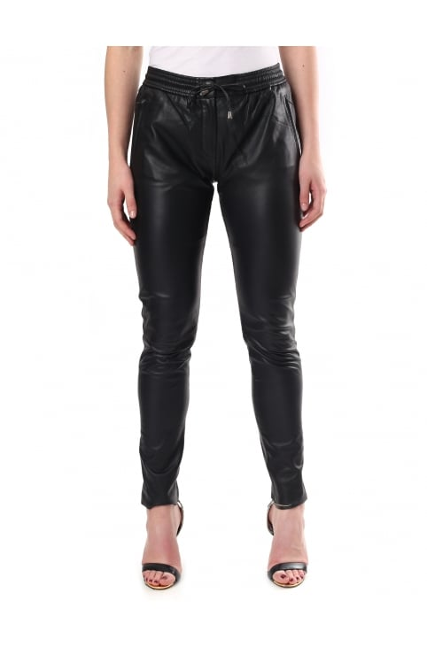 Women's Pril Leather Trousers