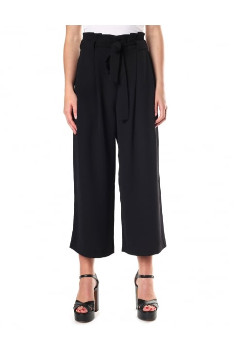 Yasemin Women's Wide Leg Cropped Trouser