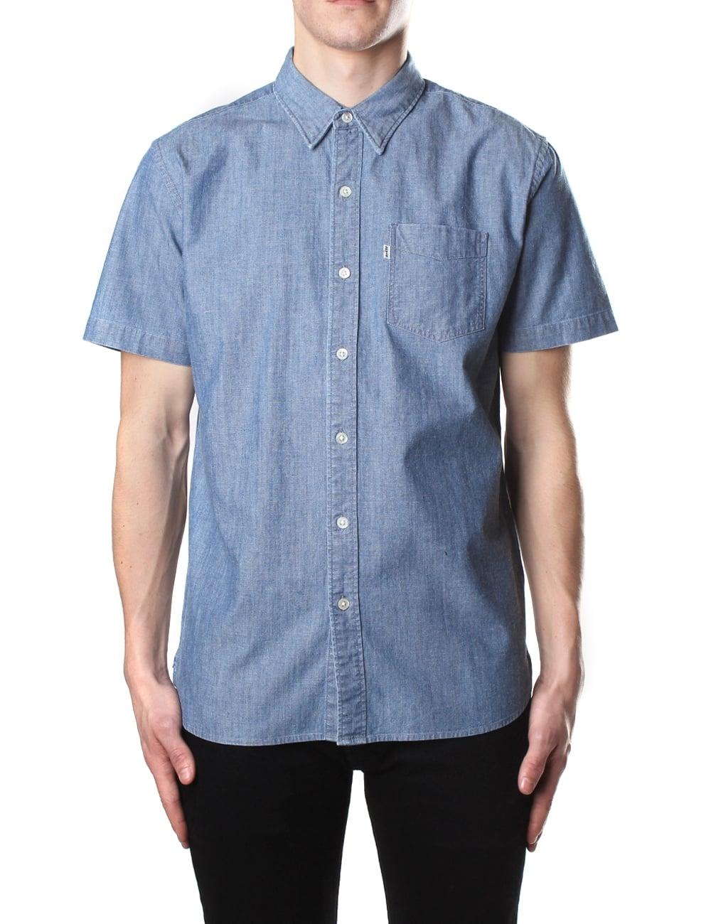b2f721c6e Levi's Short Sleeve Sunset Men's One Pocket Shirt