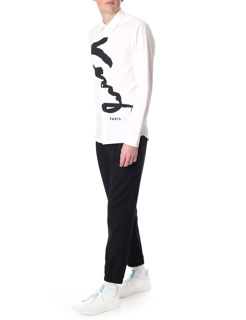 a5ae9159df Kenzo Signature Slim Fit Men's Shirt