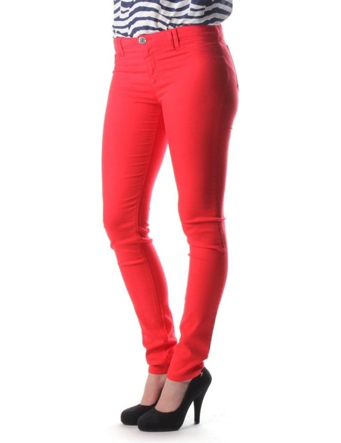 cfdf0ee28d Armani Jeans Skinny Fit Women's Jean Red