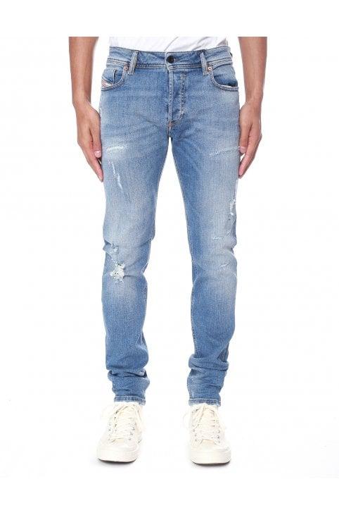 77e09010 Sleenker 86AT Skinny Jeans. Diesel Men's Sleenker Skinny Jeans Light Blue.  Now ...