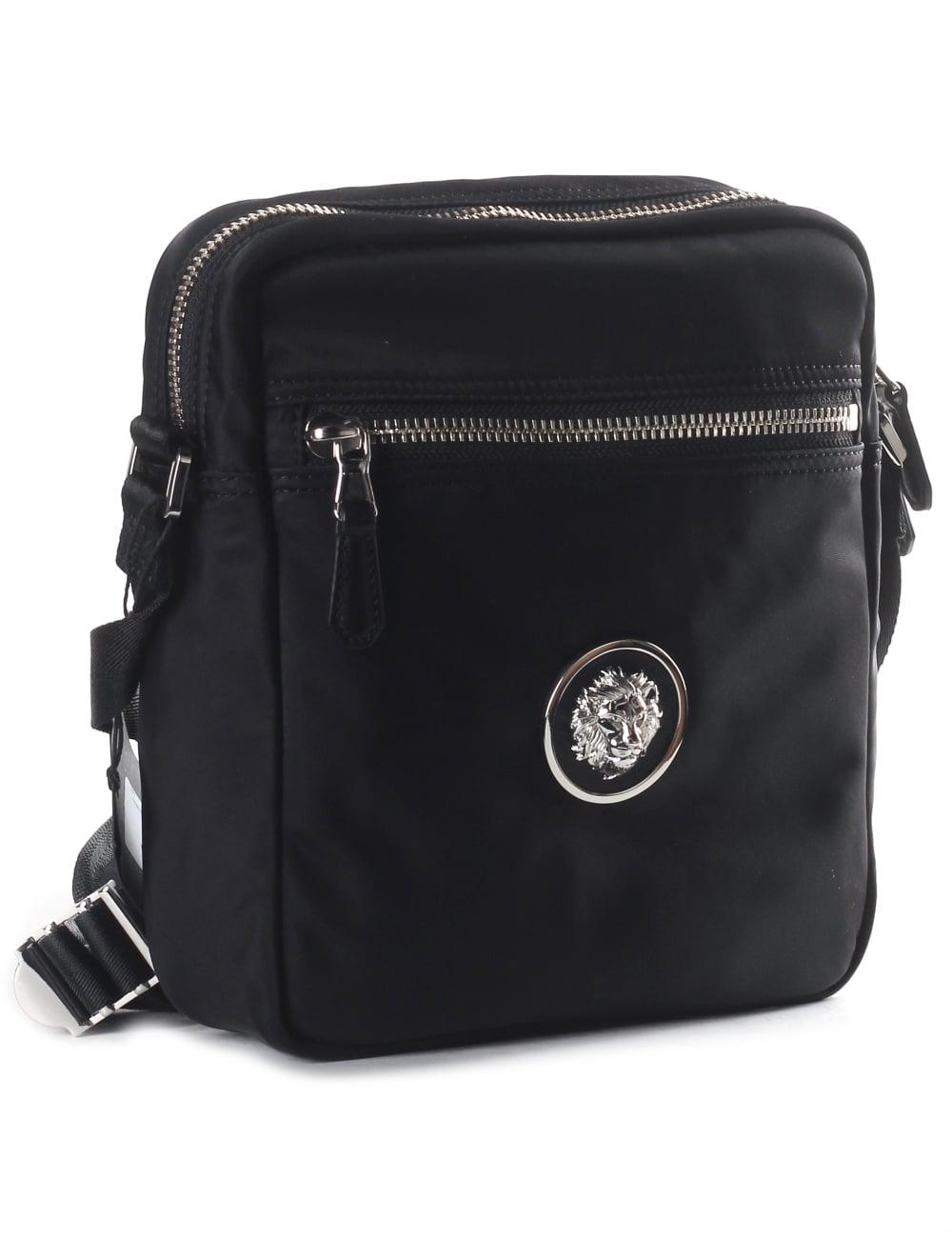 9f052fb6 Versus Versace Small Lion Head Men's Messenger Bag