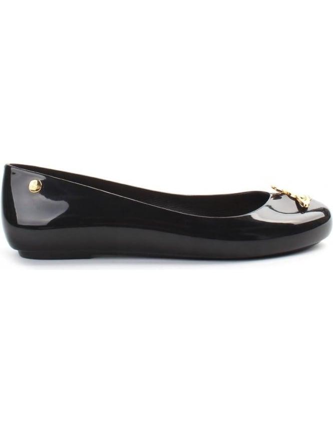 multiple colors official site fashion style Vivienne Westwood X Melissa Space Orb Womens Slip On Shoe Black