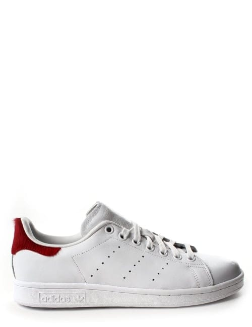Adidas Stan Smith Women's Pony Hair Lace Up Trainer White