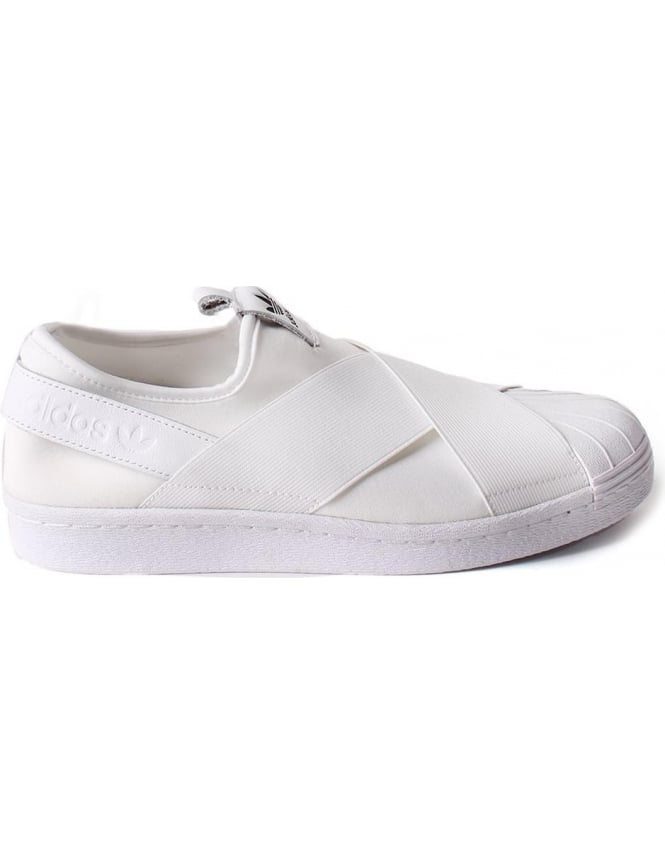 various colors be1b6 aaa6e Adidas Superstar Women's Slip On Trainer White