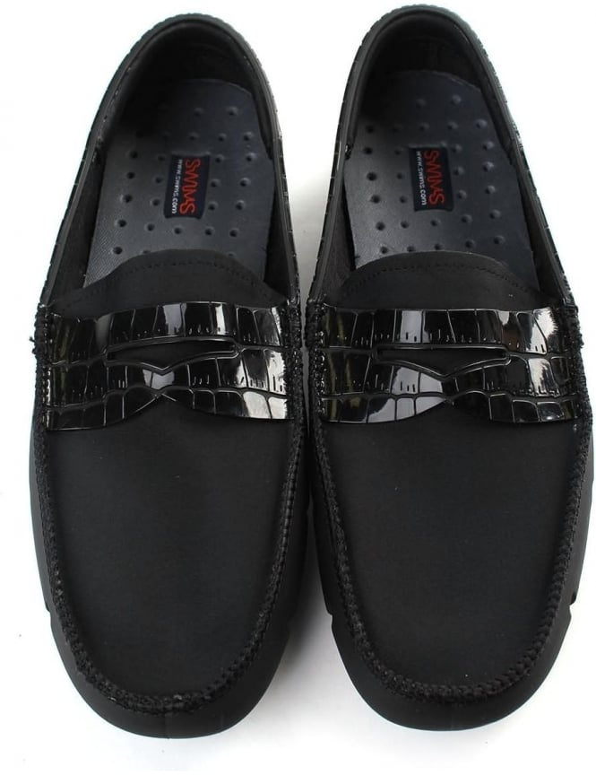 54b8a171cb0 Swims Penny Alligator Men s Rubber Loafer