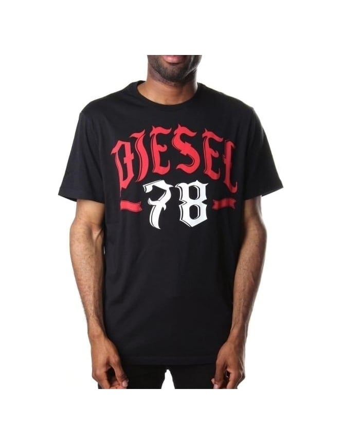 Diesel T-Lonad 78 Print Men's Short Sleeve T-Shirt