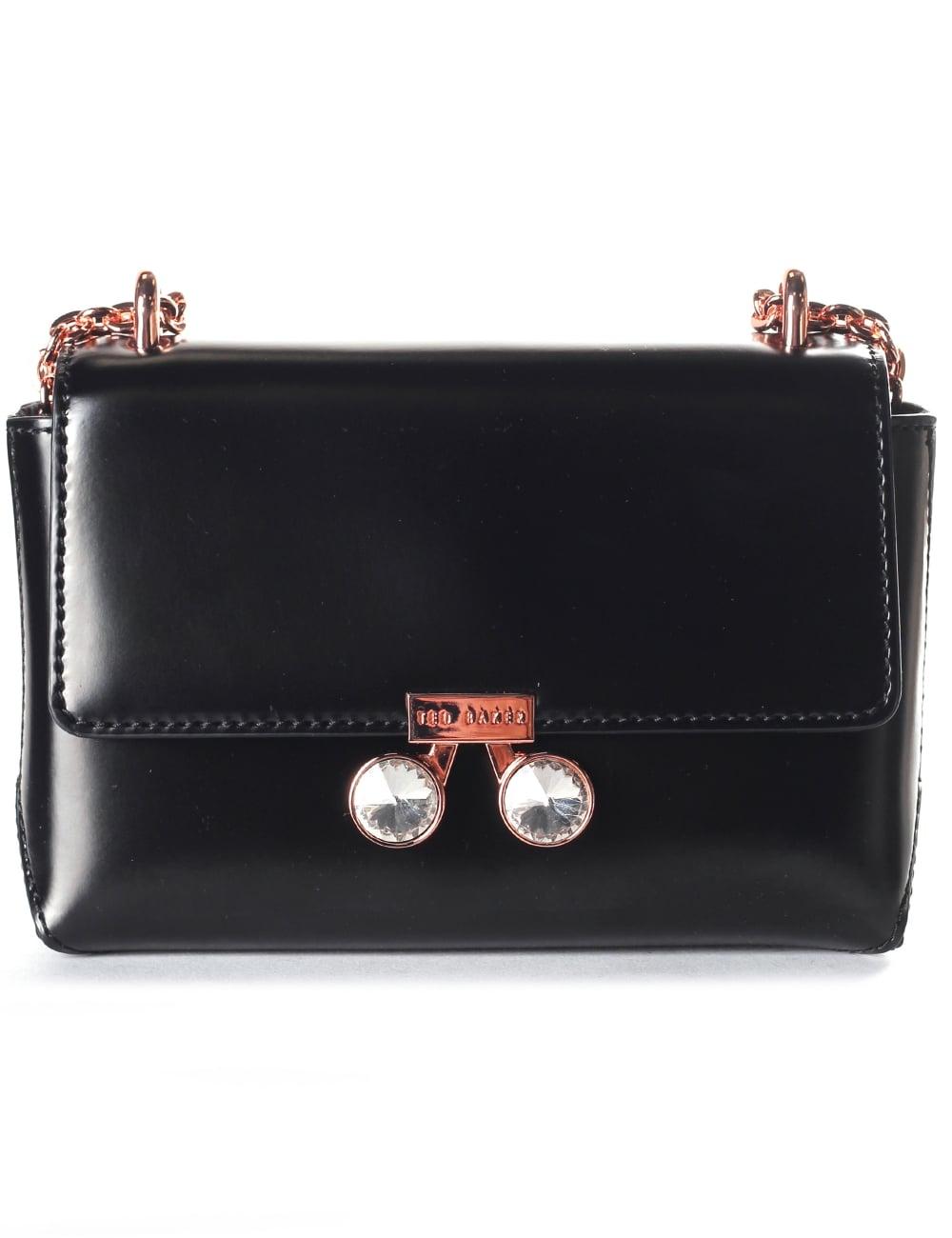 739fc494a31b46 Ted Baker Adoni Crystal Lock Women s Mini Crossbody Bag