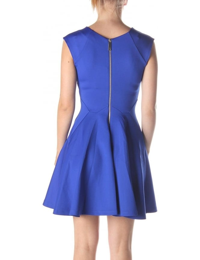 Ted Baker Arwyn Women s Panelled Skater Dress Bright Blue b24797710