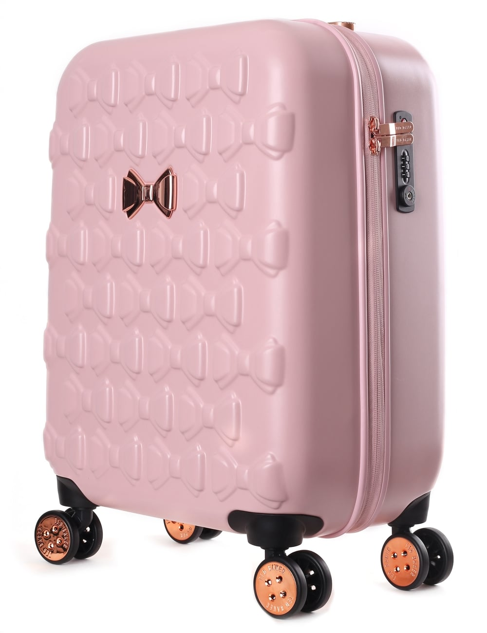 79556fada56968 Ted Baker Beaue Women s Moulded Bow 4 Wheel Trolley