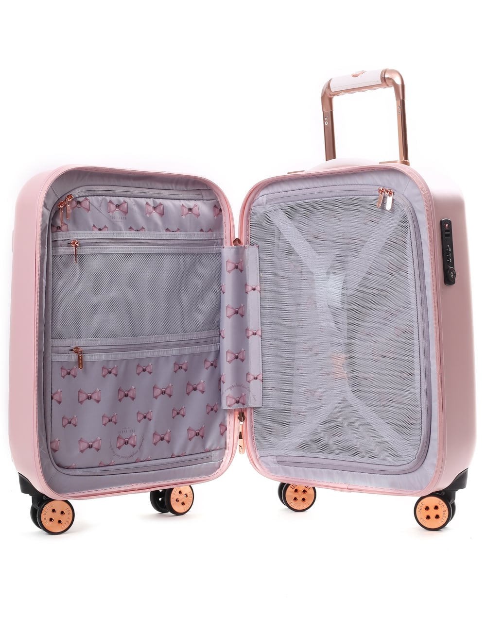 37481a1b70fd Ted Baker Beaue Women s Moulded Bow 4 Wheel Trolley