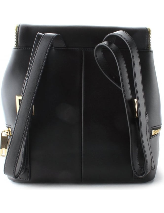 10c2c4def8928f Ted Baker Breanna Zip Detail Textured Women s Rucksack Black