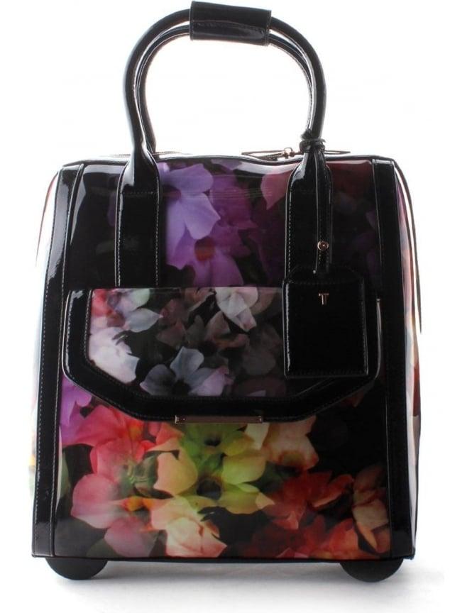 891e721dd Cascading Floral Women's Travel Bag Black