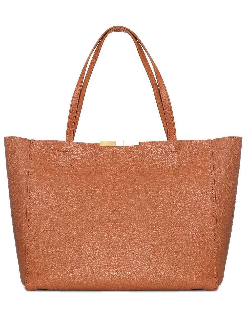 715478b84 Ted Baker Caullie Bow Detail Women s Soft Shopper Tan