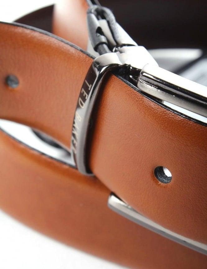 e65eeeb9ab06f Ted Baker Crafti Smart Leather Men s Reversible Belt Tan