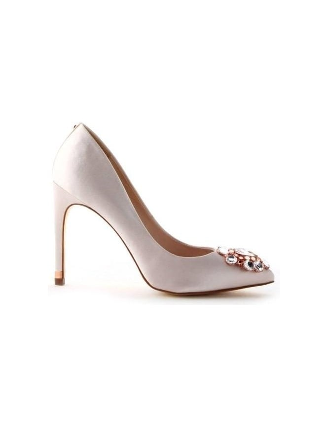a5be0d2589a88b Crystal Embellished Women s Court Shoe Nude