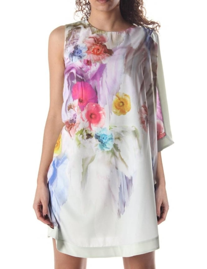 01af18e26 Ted Baker Dahnni Women s Floral Tunic Dress Pale Green