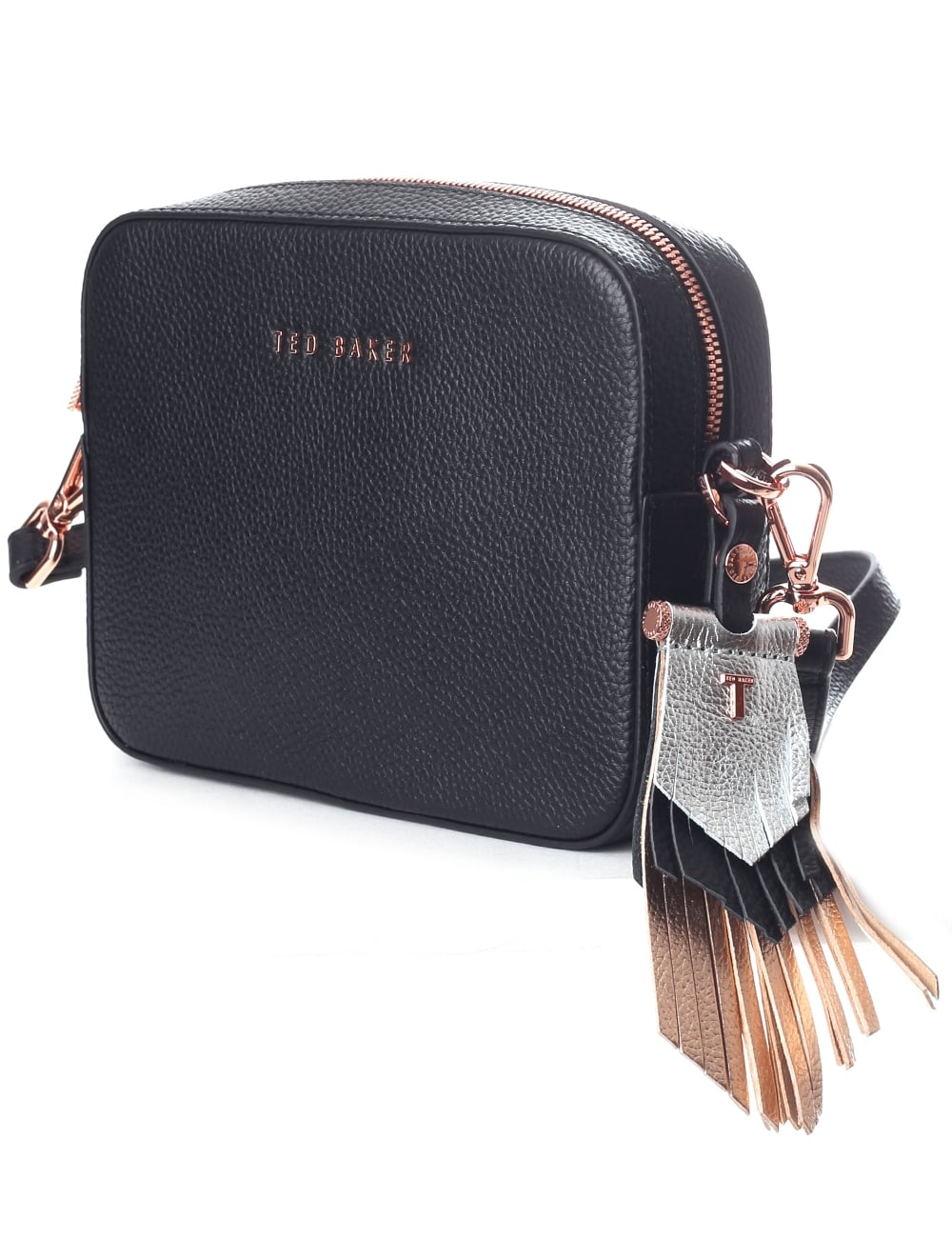 248289e5725 Ted Baker Darwina Women's Metallic Tassel Camera Bag