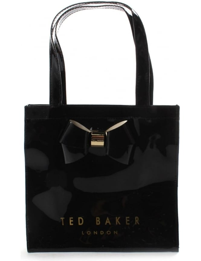 Ted Baker Didicon Women's Plain Bow Small Icon Bag Black