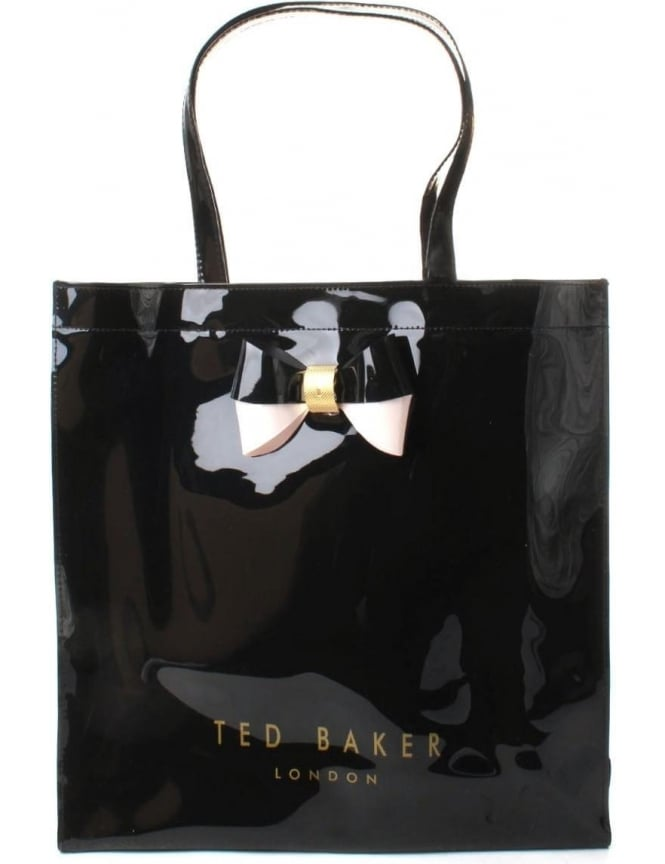 ef3719d2782e Ted Baker Elacon Women s Colour Block Bow Large Icon Bag Black