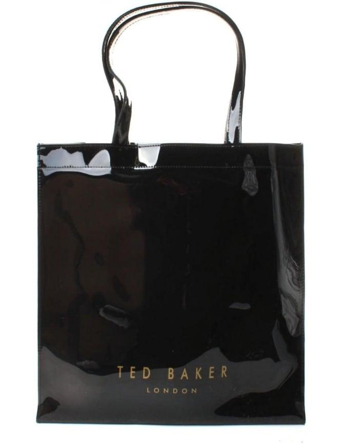 aa26b81412842 Ted Baker Elacon Women s Colour Block Bow Large Icon Bag Black