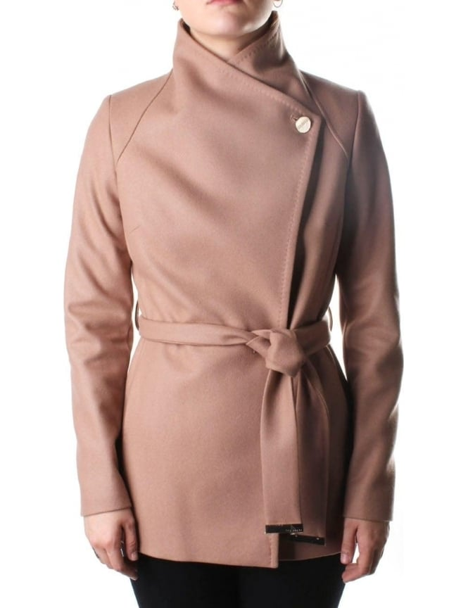 Ted Baker Elethea Wrap Around Women's Collared Coat