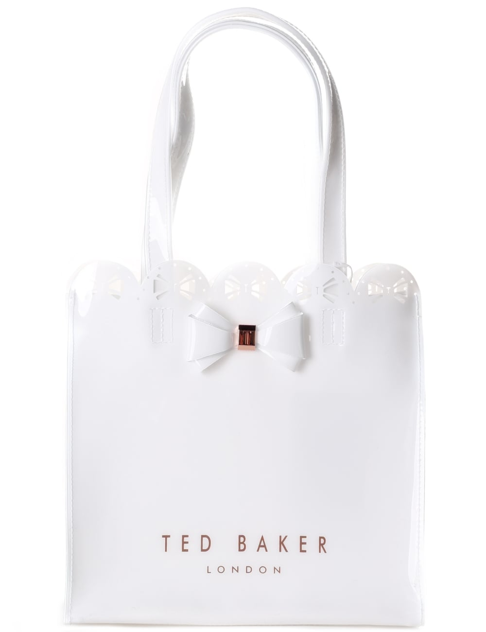 4c52a270fe4b5 Ted Baker Ellicon Women s Small Bow Tote Bag White