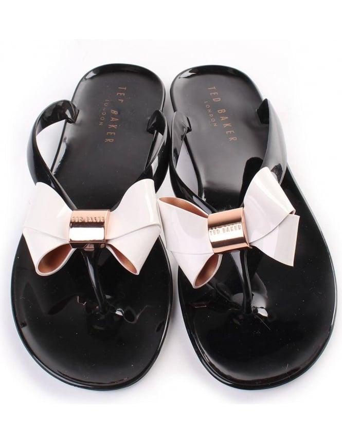 cf602fec7fe4 Ted Baker Ettiea Women s Bow Flip Flops