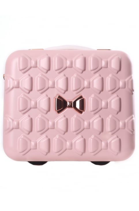 Evlina Moulded Bow Women's Vanity Case