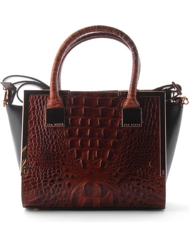 Ted Baker Fayla Women s Mini Tote Bag Tan 32f191c3a6