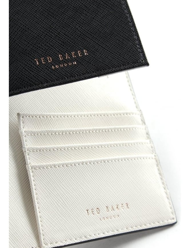 c0480fe8ecd216 Ted Baker Flore Women s Colourblock Travel Passport Set Black