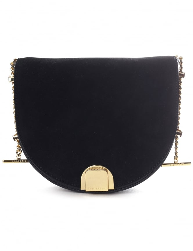 Ted Baker Flossi Women's Mini Suede Moon Bag
