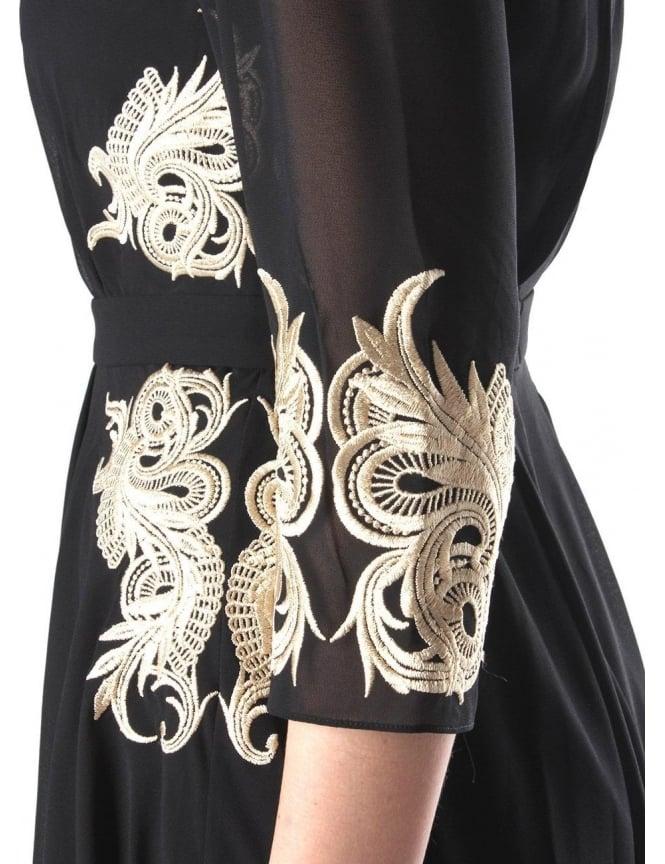 e6066cf47f9c Ted Baker Gaenor Women s Detail Dress Black