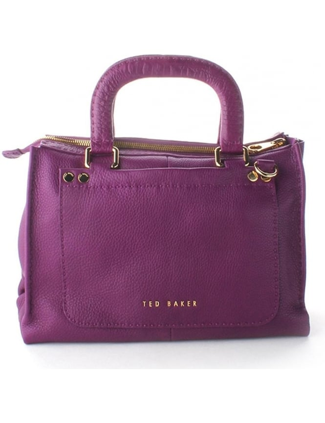 83080dffb Ted Baker Gaitory Exotic Women s Stab Stitch Tote Grape