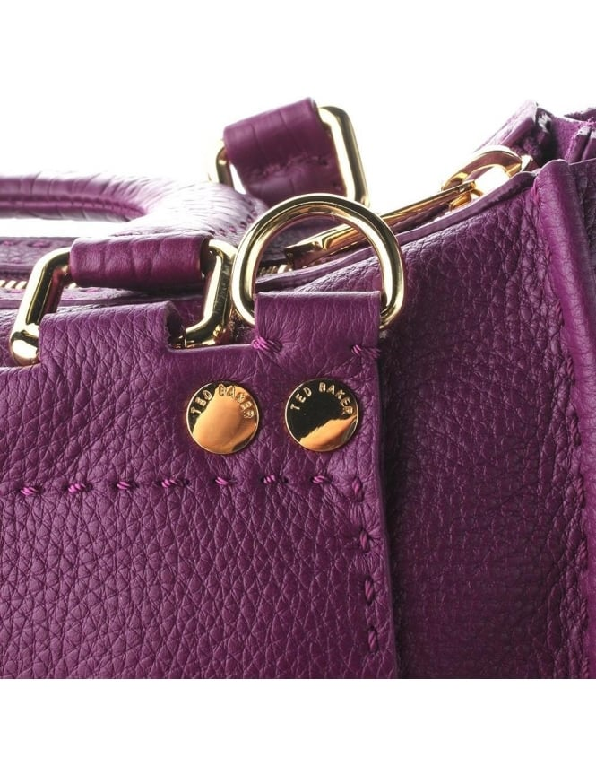 72f88f8d1ddf ... Bags  Ted Baker Gaitory Exotic Women s Stab Stitch Tote Grape. Tap  image to zoom. Gaitory Exotic Women  039 s Stab Stitch Tote Grape