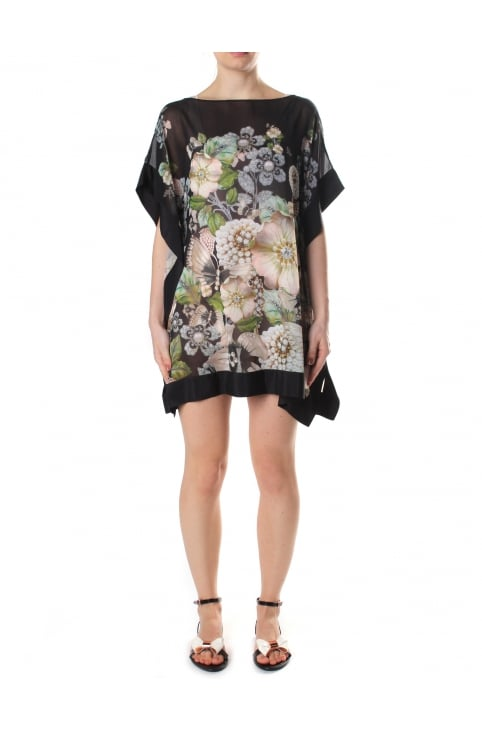 Geminaa Women's Gem Gardens Cover Up Black