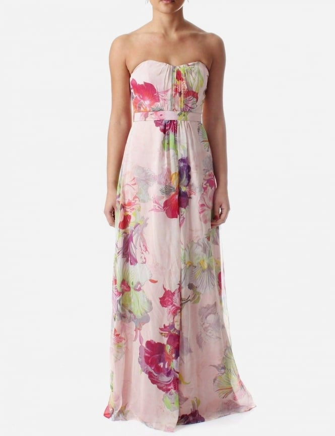 Ted baker goji orchid maxi dress