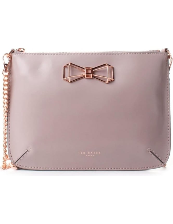 db4dca5a19d Ted Baker Gretaa Women s Geometric Bow Leather Crossbody Bag ...