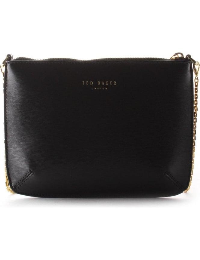 489e0d438e0 Ted Baker Harley Women's Crosshatch Cross Body Bag Black
