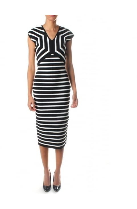 Helda Women's Stripe Knit Dress