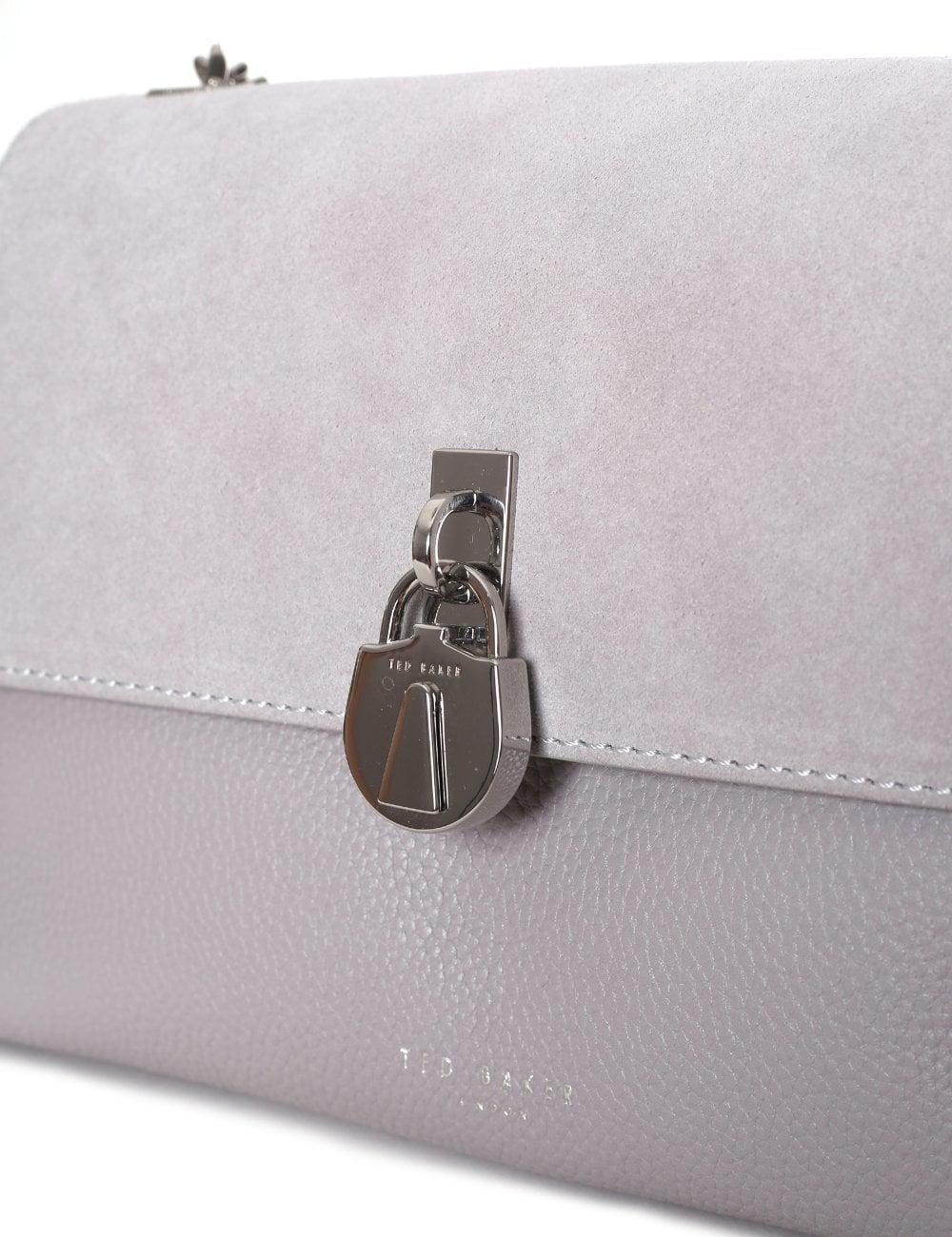 14235fc1da63 Ted Baker Helena Women s Suede Padlock Bag