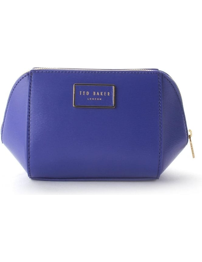 a5cabb8f06 Ted Baker Hool Women's Trapeze Xhatch Washbag Blue