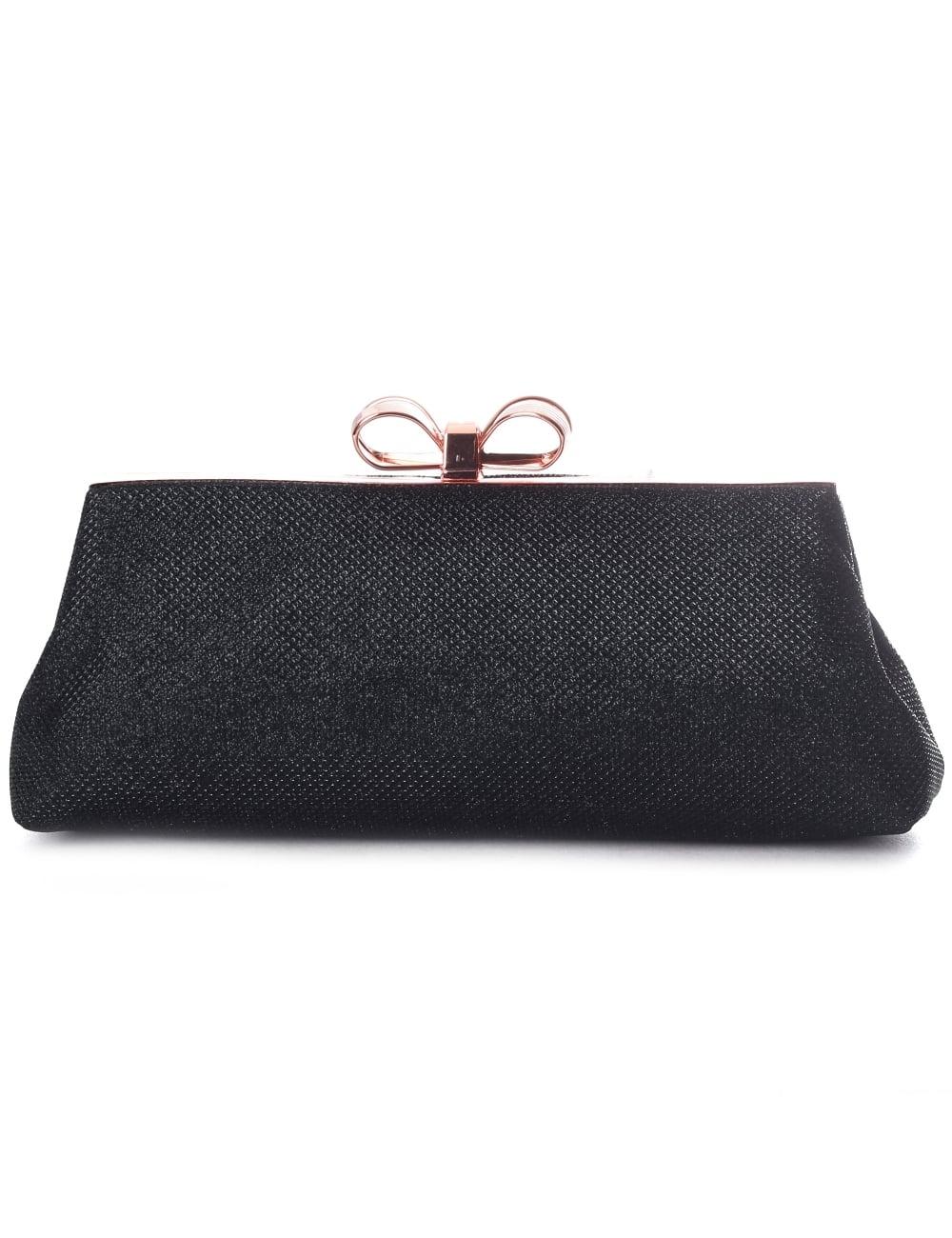 fed08f097 Ted Baker Iirene Glitter Bow Women s Evening Bag