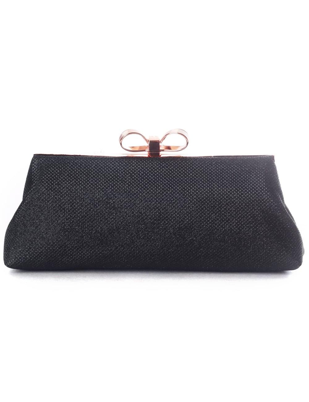 296b0e49af Ted Baker Iirene Glitter Bow Women s Evening Bag