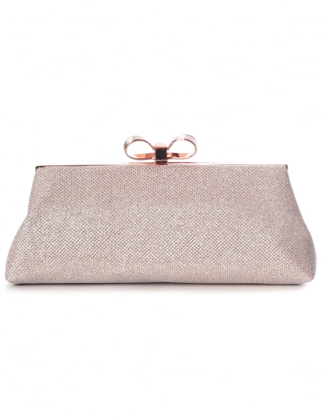 0cc7ea14fcb5 Ted Baker Iirene Glitter Bow Women s Evening Bag